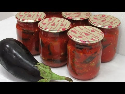 Баклажаны с помидорами рецепт на зиму в мультиварке