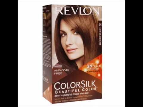 Revlon Colorsilk Beautiful Color Light Golden Brown 54 1 Ea Youtube