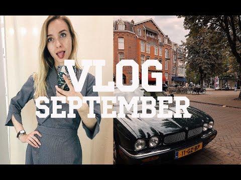 Сентябрьский VLOG: что меня мотивирует работать? командировка в Амстердам