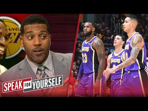 Jim Jackson on Kyle Kuzmas 41-point game & small ball lineup comments | NBA | SPEAK FOR YOURSELF