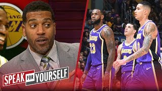 Jim Jackson on Kyle Kuzma's 41-point game & 'small ball' lineup comments | NBA | SPEAK FOR YOURSELF