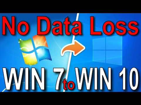 How To Update Windows 7 To Windows 10 Without Losing Data