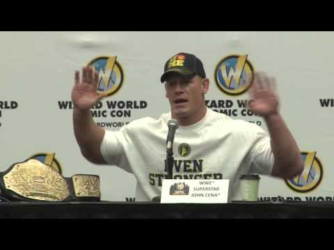 Austin Comic Con 2013  - One on One with WWE Superstar John Cena