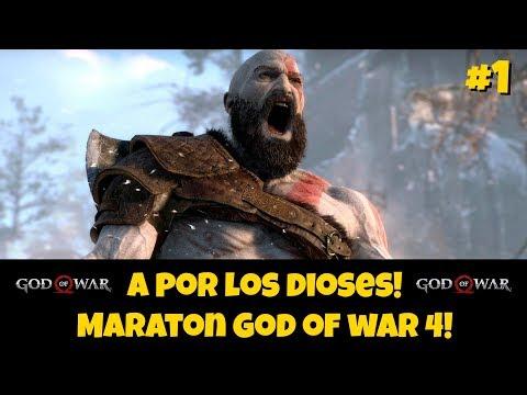 🔴 Lucha a muerte con los dioses! Maratón God of war! #01!