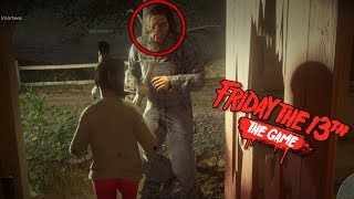 FRIDAY 13th: THE GAME | SIN MASCARA A JASON DEL SACO!!