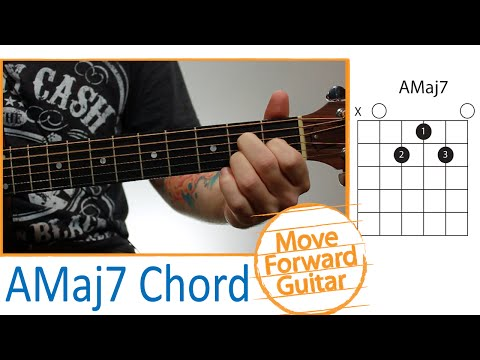 Guitar Chords for Beginners - AMaj7