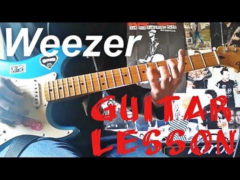 Weezer - California Kids Guitar Lesson