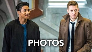 """DC's Legends of Tomorrow 3x13 Promotional Photos """"No Country for Old Dads"""" (HD) Wally West"""