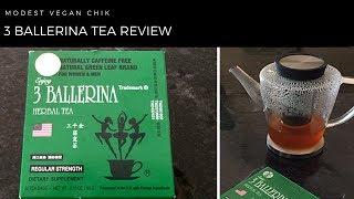3 Ballerina Herbal Tea Review   Regular Strength   Weight Loss Tea   Detox Tea