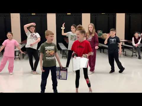 Mary Poppins Practice Clips - part of Nazareth Academy Grade School's production of Mary Poppins