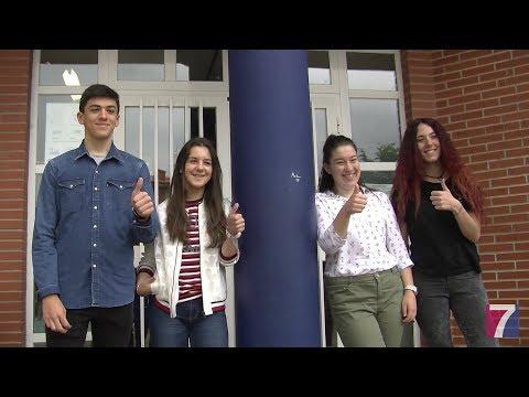 """Un grupo de alumnos del IES MUSKIZ gana el premio """"Egin eta Ekin"""" en la categoría de.."""