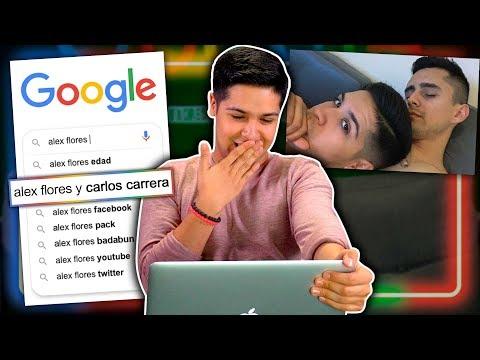 ¿Qué dice Google de Alex Flores?… Lo tienen vigilado