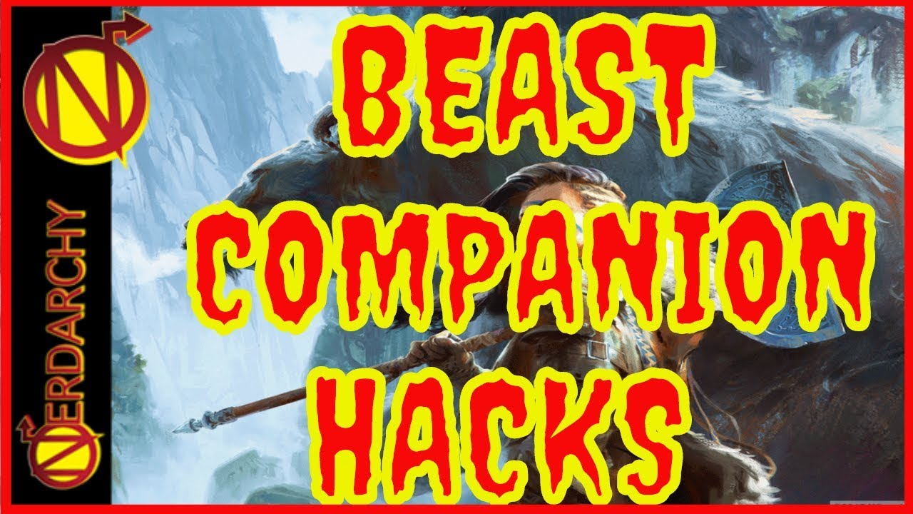 Be a Better 5e Beast Master with Ranger Spell and Beast Companion Combos
