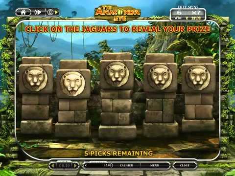 The Anaconda Eye - OnlineCasino Spiel von onlinecasino-deutschland.de NEU!