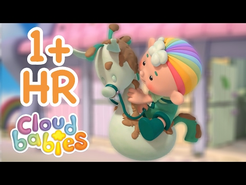 Cloudbabies - Mucky Skyhorsies | 60+ minutes | Cartoons for Kids