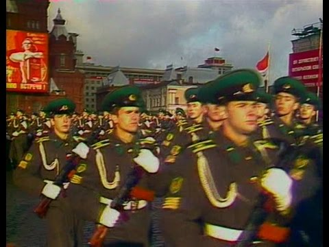 HD Soviet October Revolution Parade, 1980 Парад 7 Ноября