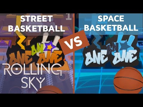 Rolling Sky - Space Basketball Vs Street Basketball (ReSkinned Version) | SHAvibe