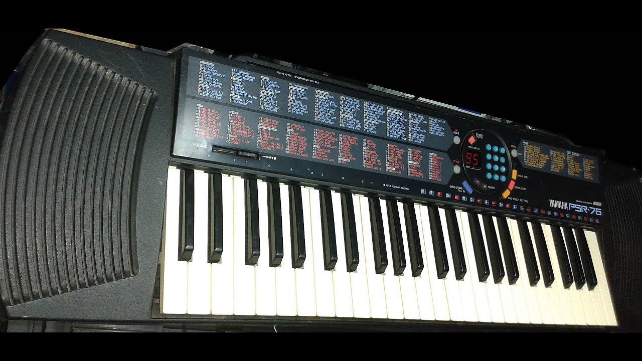 Yamaha psr 76 aran er youtube for Yamaha psr 410 keyboard