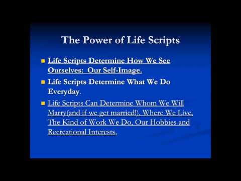 Write your own Life Script - Dr. Moine