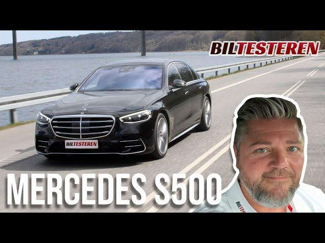 Ekstraudstyr for 700.000 kr! Mercedes-Benz S 500 (test)