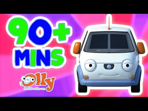 Olly The Little White Van - 90+ MINS | Exciting Olly Adventures