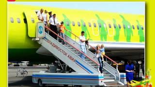 видео S7 Airlines. Парк самолетов и схемы расположения мест