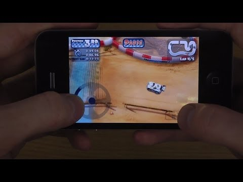 iPhone 4 iOS 7.1.1 - Gaming Review