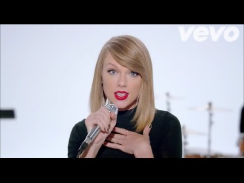 taylor swift shake it off official music video makeup