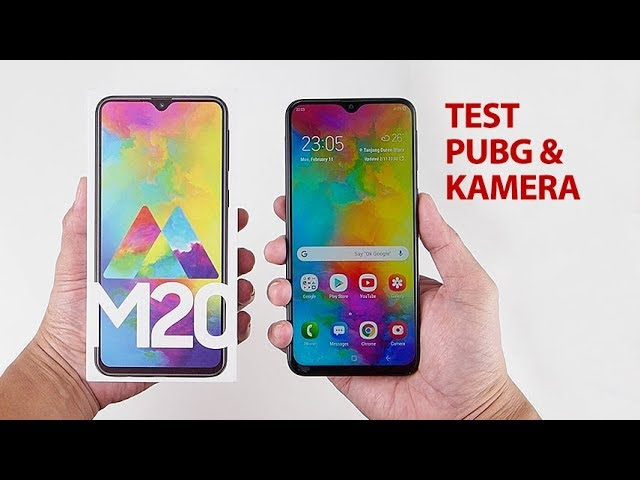 2,79jt.. Buka box SAMSUNG GALAXY M20 Indonesia! Test PUBG + Kamera
