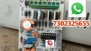 Automatic voltage stabilizer| Microcontroller Kit Installation | Full Practical With Timer System