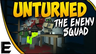 Unturned ➤ Multiplayer Gameplay - The Rival Squad Arrives, Police Escorts, And Base Building - Ep. 5