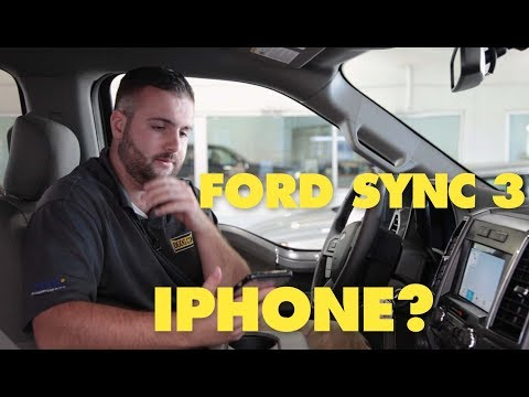 Setup Ford Sync3 Bluetooth / Apple Car Play | 2018 Ford F-150