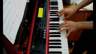 Nightwish - The Kinslayer keyboard cover (re-record)