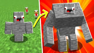 1 EURO MUSKELMANN VS 10000€ MUSKEL in Minecraft