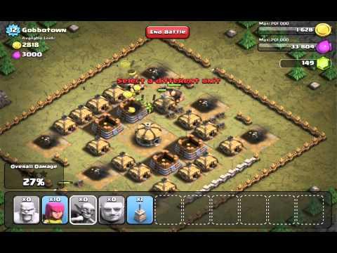 Clash of Clans iOS playthrough 12: Gobbotown