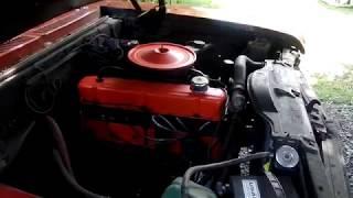 71 Chevy Nova Running