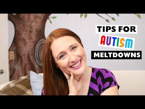 HOW TO HANDLE AN AUTISM MELTDOWN OR AUTISM TANTRUM