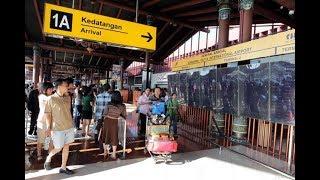 Terminal Kedatangan 1 A Bandara Soekarno Hatta  (Tiba dari Solo)