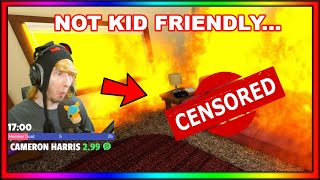 KreekCraft Being Not Kid Friendly For Another 2 Minutes...