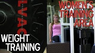 Weight Training Area/Women's Only Training Area