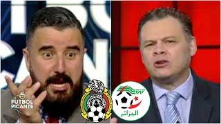 La alineación del Tata para el México vs Argelia hace PELEAR a Álvaro y Dionisio | Futbol Picante