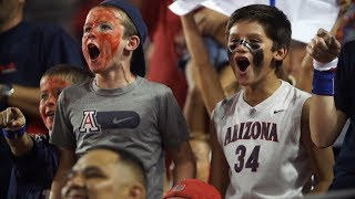 Fan support, both in Tucson and on the road, has fueled Arizona football this season