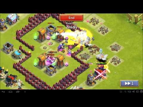 Castle Clash A Base Defense Vs Raids And HBM