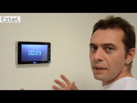 Installation Visiophone Extel Portier Vidéo Memo 2 Youtube
