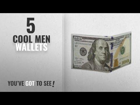 Top 10 Cool Men Wallets [ Winter 2018 ]: Men's US Dollar Bill Wallet Billfold PU Leather Money Clip