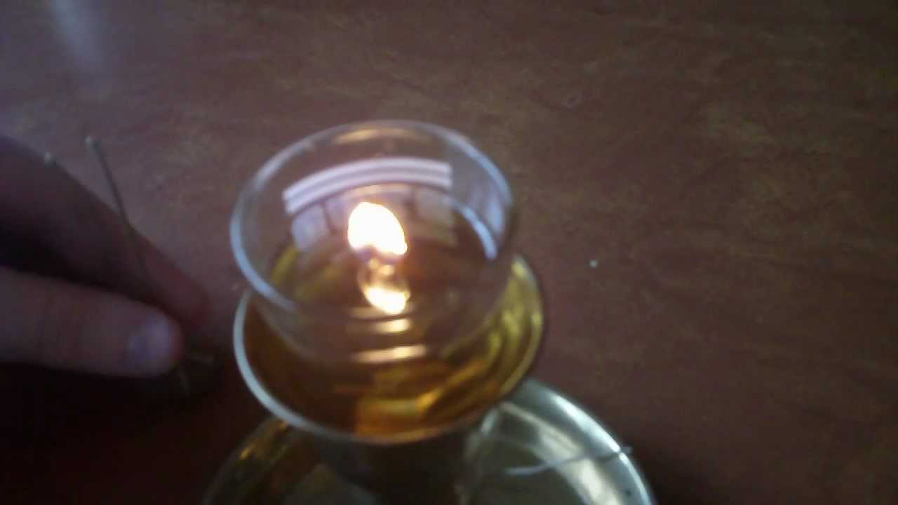 Simple Oil Candle Wick: Make Oil Lamps Or Candles Using Hemp And Household  Oil Diy   YouTube