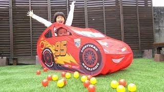 カーズ おもちゃ ボールプール レーシングドライバー テントハウス おうち Cars Tent House Toy thumbnail