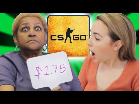 Grandma Guesses The Price Of CS:GO Skins (Ep. 2)