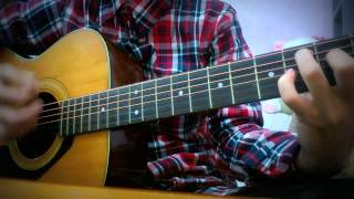 Chân ngắn (Cẩm Vân) cover guitar