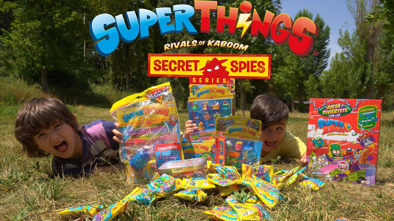 SUPERTHINGS SECRET SPIES 😱😱  JUEGA y DIVIERTETE con el NUEVO CUADERNO de los SUPERZINGS!!!